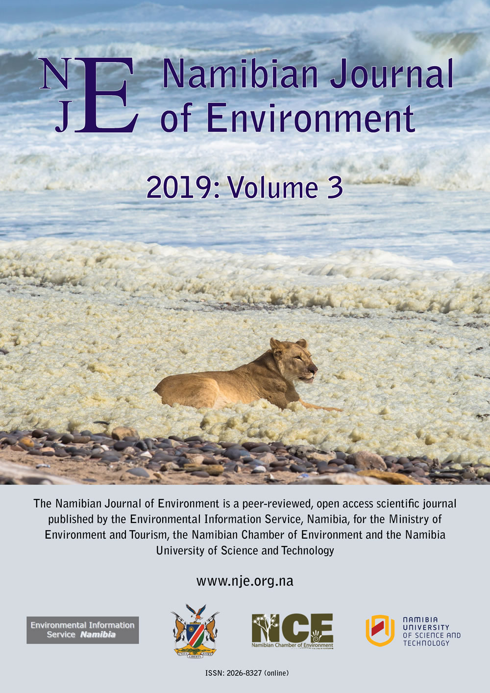 Cover of Namibian Journal of Environment 2019 Volume 3